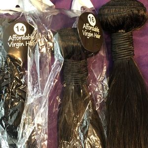 "14"" 16"" 18"" AFFORDABLE VIRGIN HAIR"